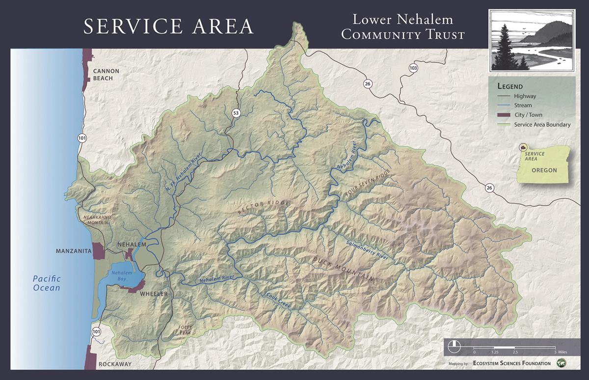LNCT Service Area